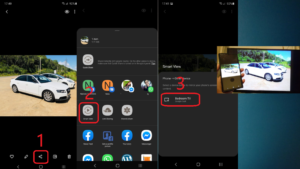 how to connect samsung phone to smart tv wirelessly - smart share