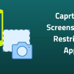 Caprture Screenshot in Restricted App