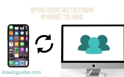 How to Sync Contacts From iPhone to Mac (5 Ways)