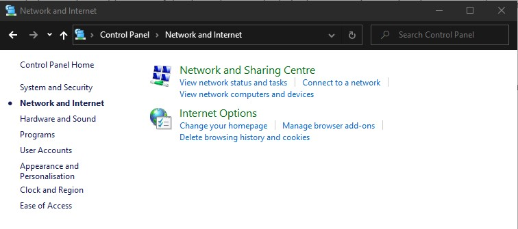 How to View Saved WiFi passwords in Windows Network sharing centre