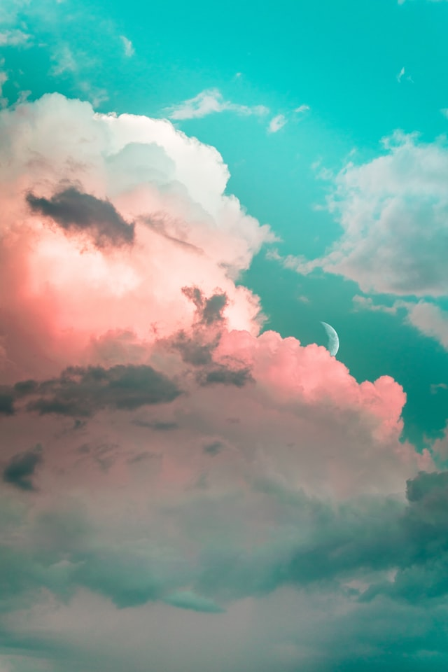 Aesthetic sky clouds - IPHONE WALLPAPER