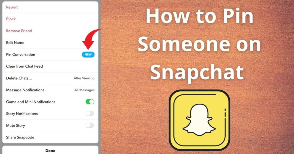 How to Pin Someone on Snapchat - iPhone & Android