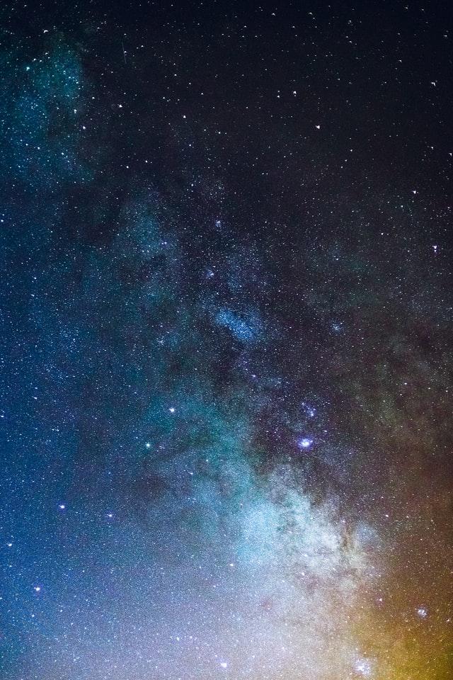 Milky way during the night iphone wallpaper dark