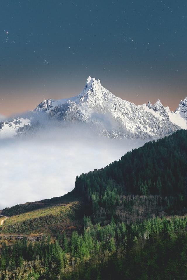 iphone 12 4k wallpaper mountains nature